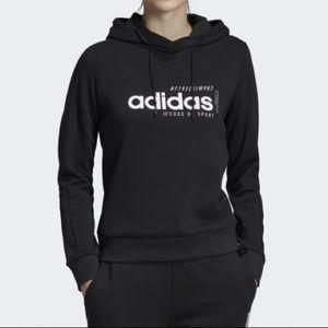 Adidas Woman's Black Brilliant Basic Hoody